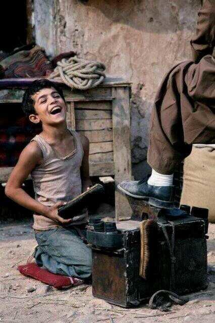 وليس كل صاحب مال سعيد بل السعادة هي هبة من الله