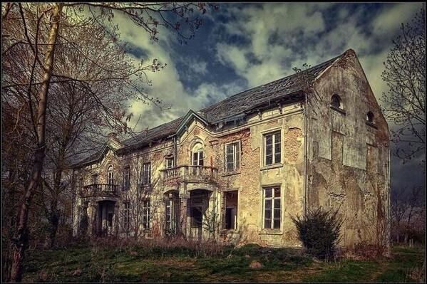 Abandoned Manor, Belgium
