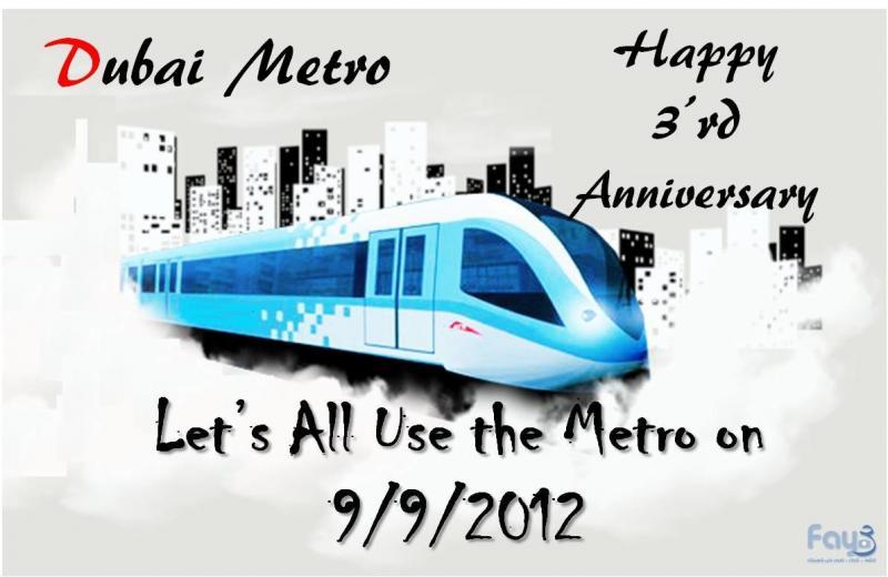 Lets Ride the #Dubai Metro