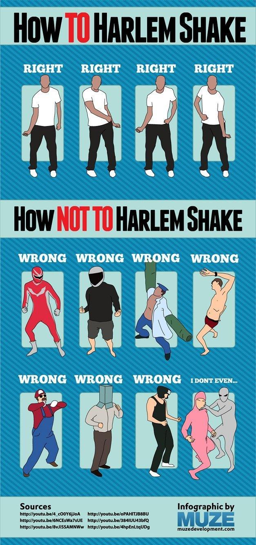 how to #harlem_shake #Infographic