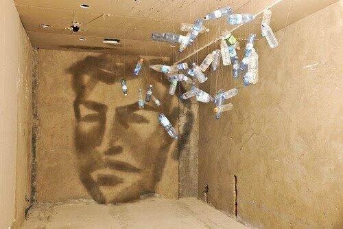 فن الرسم بالظل للفنان الأذربيجاني رشاد علي الأكبروف