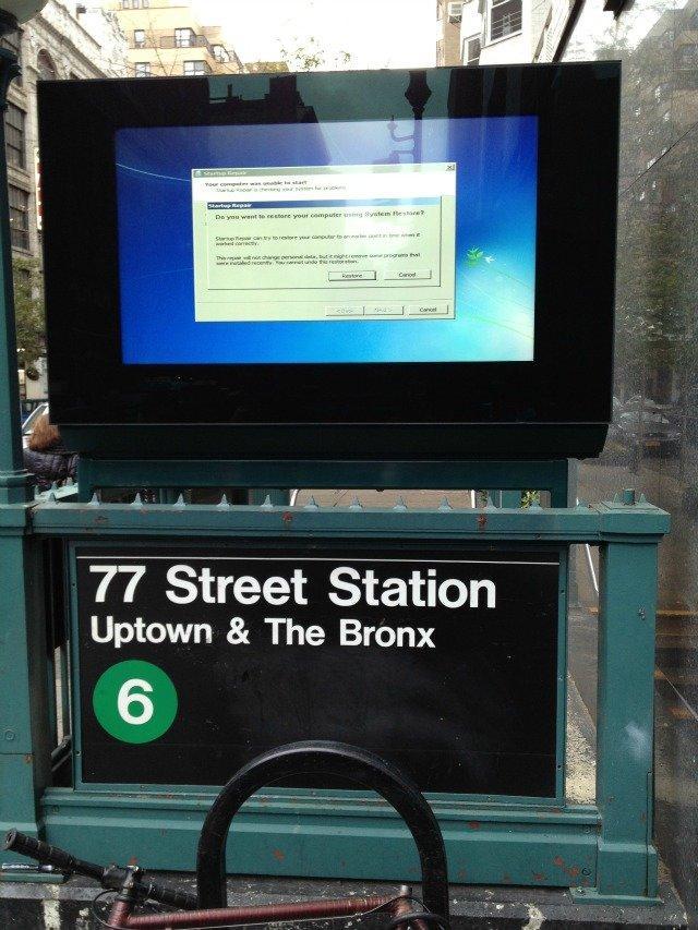 NewYork Subway System needs restore - #mashable