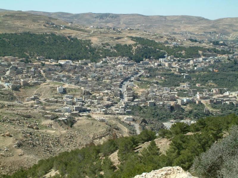 منظر عام لمحافظة #الطفيلة #الأردن