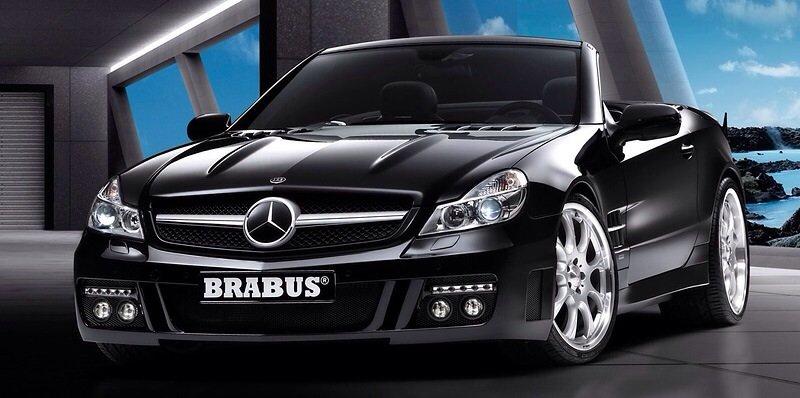 Mercedes-Benz Brabus SL V12 - front shot