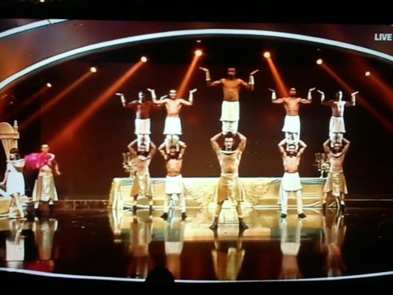 #cherifian_troupe still amazing ! #ArabsGotTalent