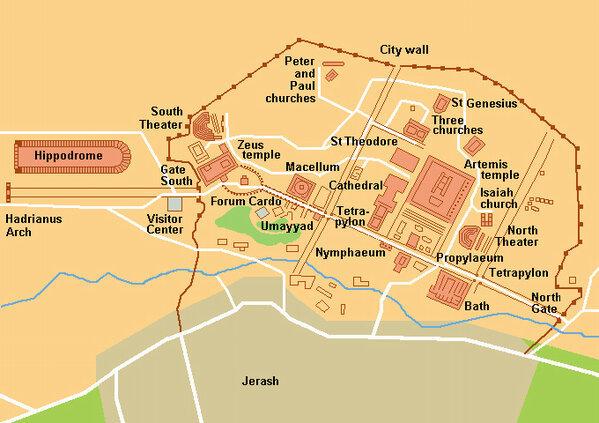 صور منوعة لمدينة #جرش في #الأردن - صورة 8