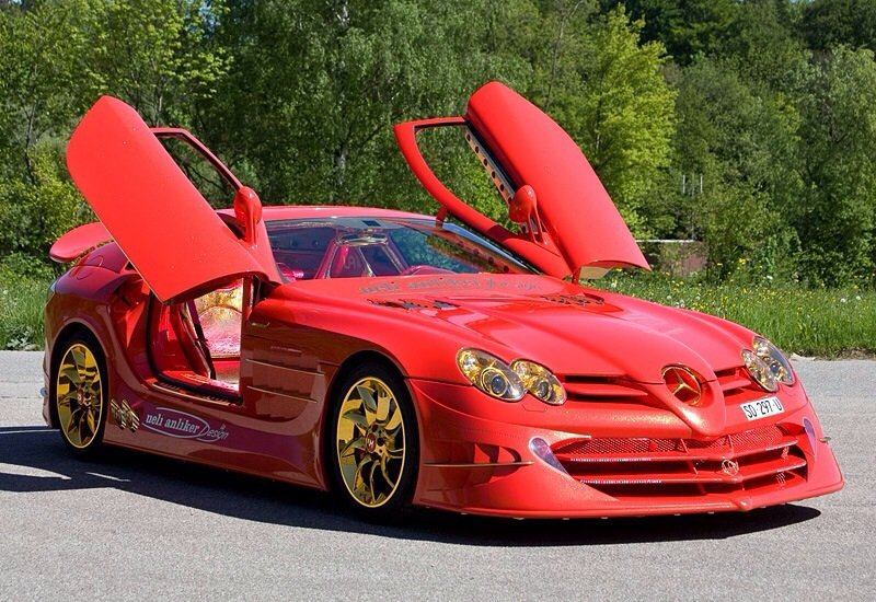 Mercedes-Benz SLR McLaren 999 Red - front shot