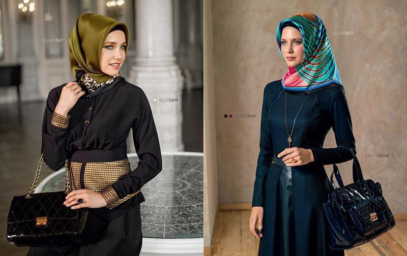 ملابس #محجبات #حجاب : موديلات #فساتين طويلة روعة #بنات - صورة 8