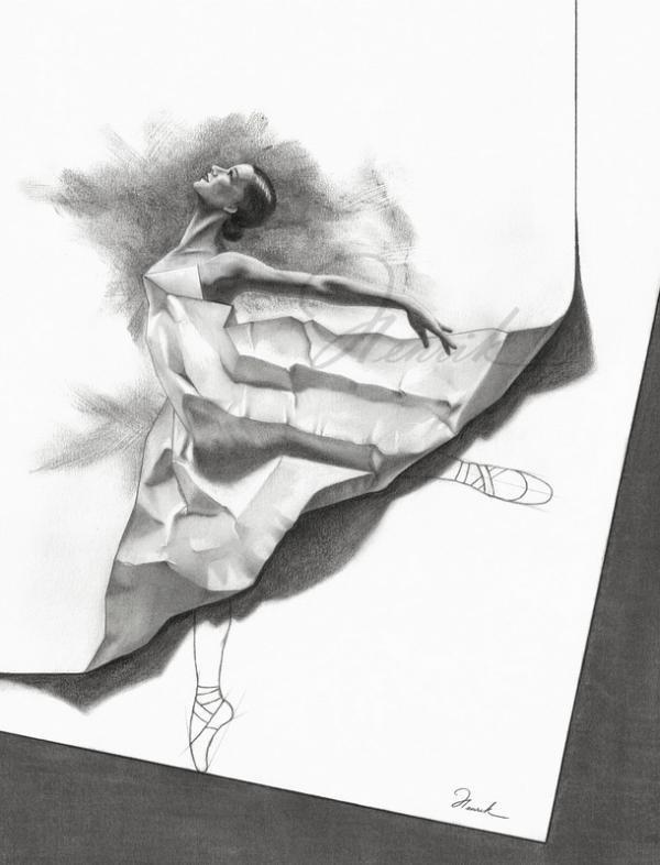 لوحات فنية بقلم الرصاص #Pencil_Sketch #فن - 4