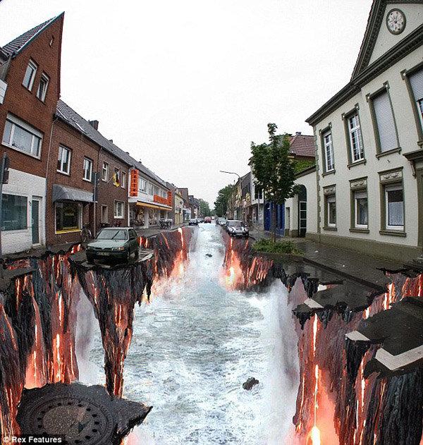 رسومات شوارع ثلاثية الأبعاد - صورة 4