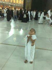 طفل رائع في #الحج