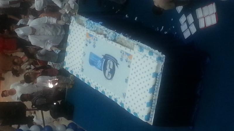 أكبر كيكة في ..... المول - الخالدية مول #أبوظبي