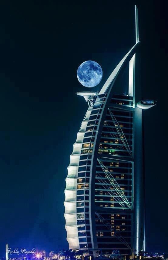 Dubai.. Burj al Arab at night