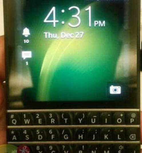 The new #Blackberry with keyboard photo
