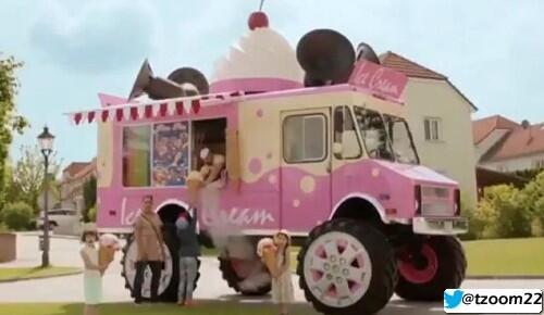 سكودا تطلق أكبر عربة أيس كريم في #العالم