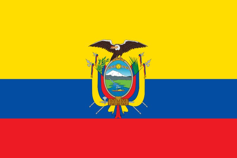 علم دولة الإكوادور