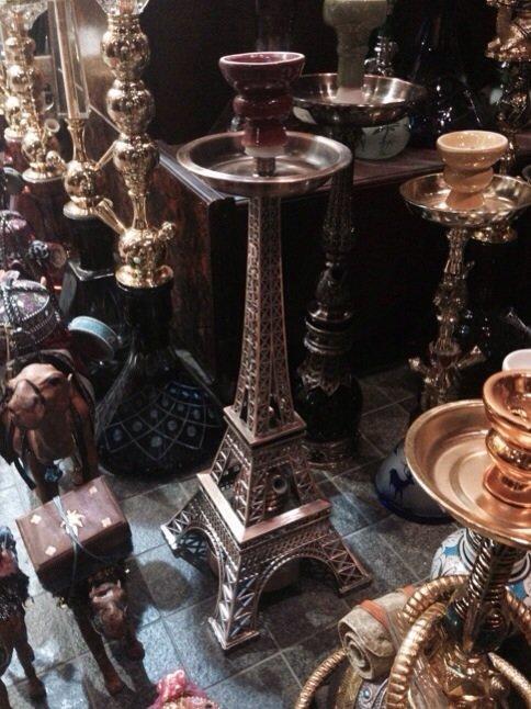 ارجيلة على شكل برج ايفل #أبوظبي