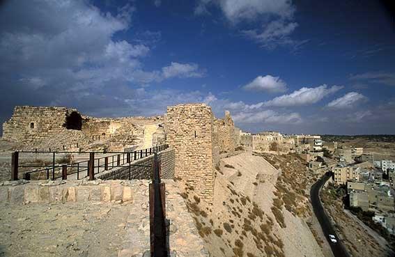 قلعة #الكرك #الأردن - قلعة صلاح الدين