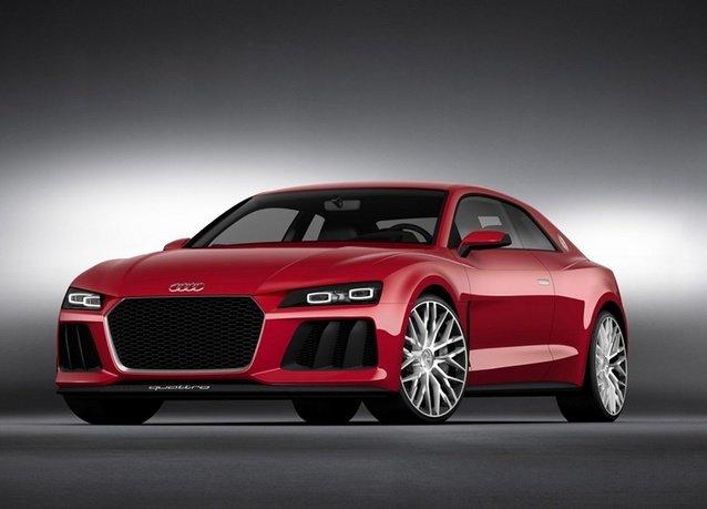 تعرض Audi تقنية الليزر لإضاءة السيارات في معرض #CES2014