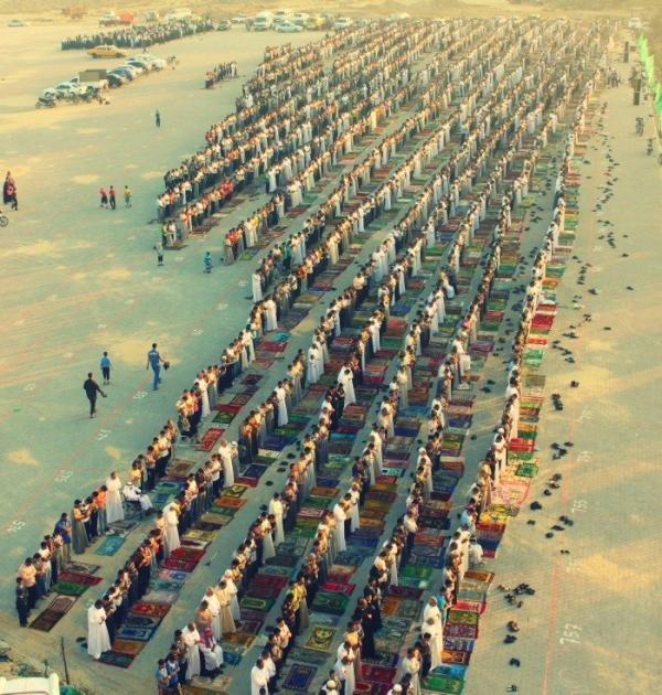 صلاة عيد الفطر في #غزة