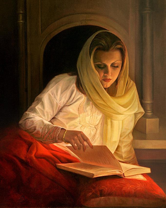 Iranian painter iman maleki #Reality_Painter - 5