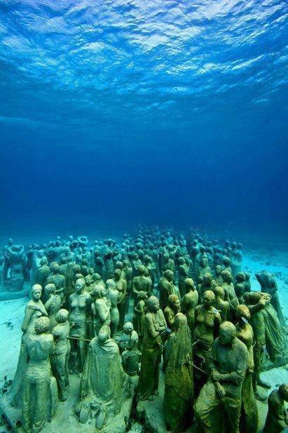 Underwater Museum, Cancun