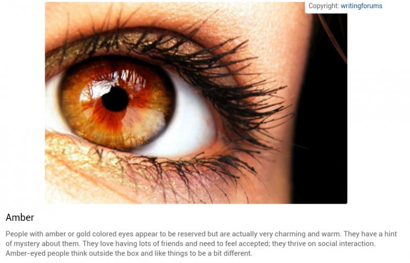 شخصيتك حسب لون عينيك: الذهبي #تحليل_شخصية