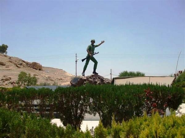 نصب معركة الكرامة - الشهيد - في #الأغوار #الأردن