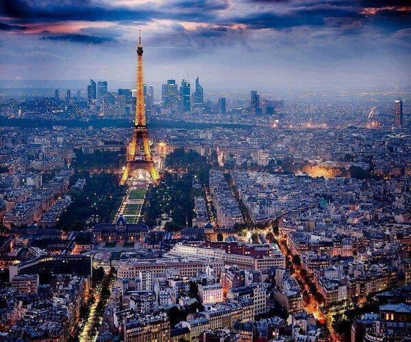 Amazing view of #Paris - #France