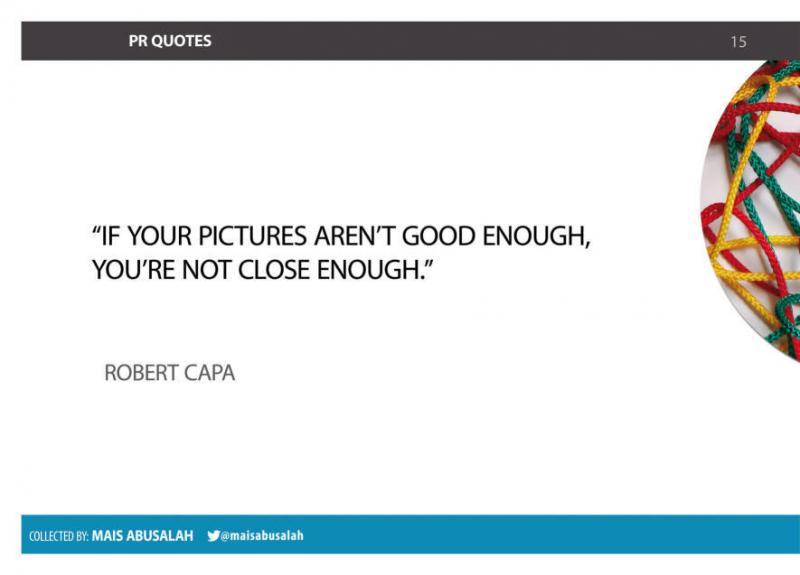 Inspiring PR & Communications Quotes 9