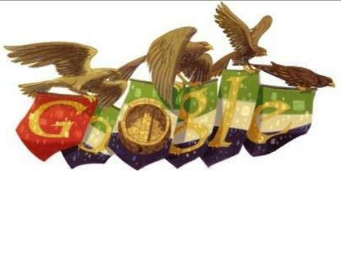 #جوجل تغير شعارها بمناسبة #العيد_الوطني في #الإمارات
