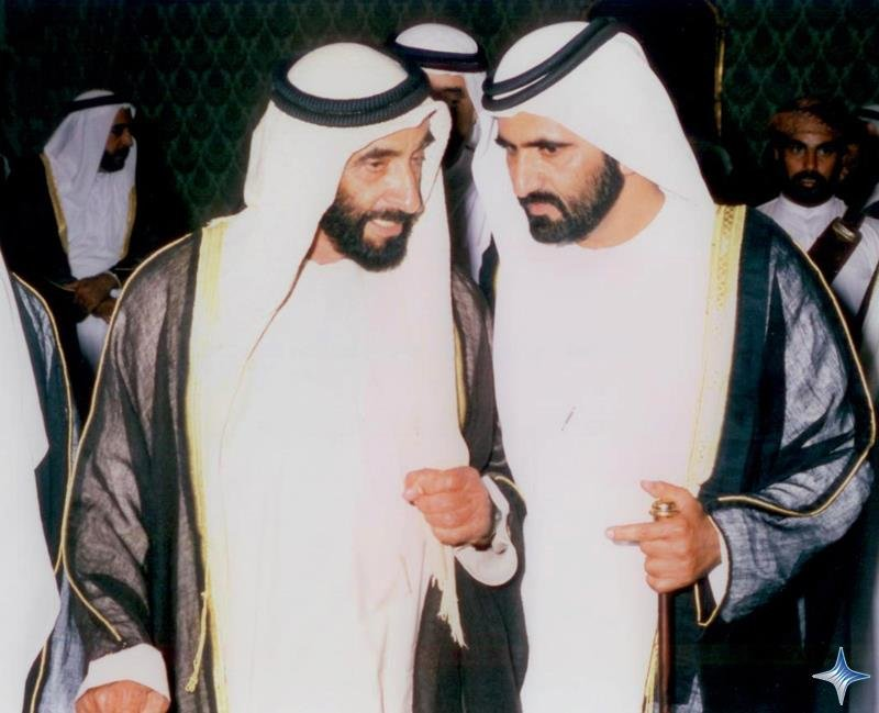 Rare Pictures for Sheikh Zayed and Sheikh Mohamad Bin Rashed 3