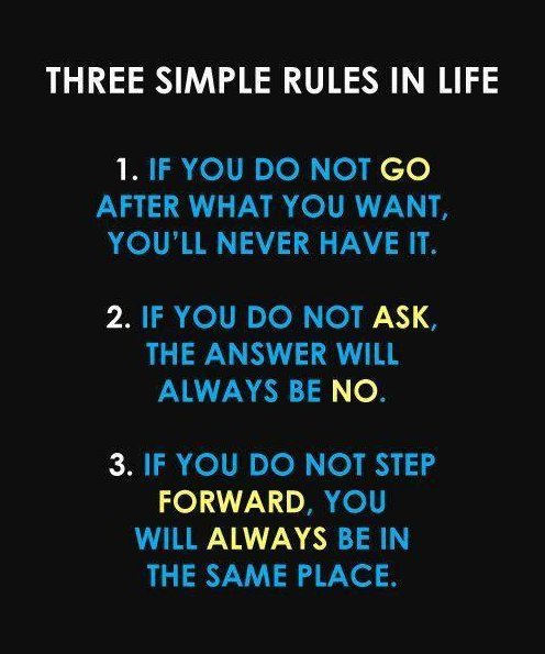 Rules of Life #Quote