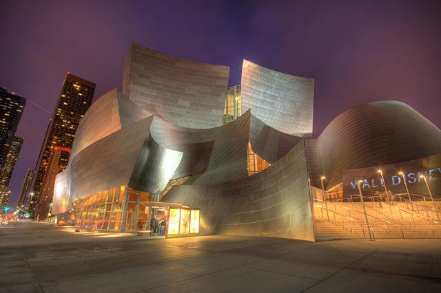 Amazing Buildings - Walt Disney Concert Hall (Los Angeles, California, USA)
