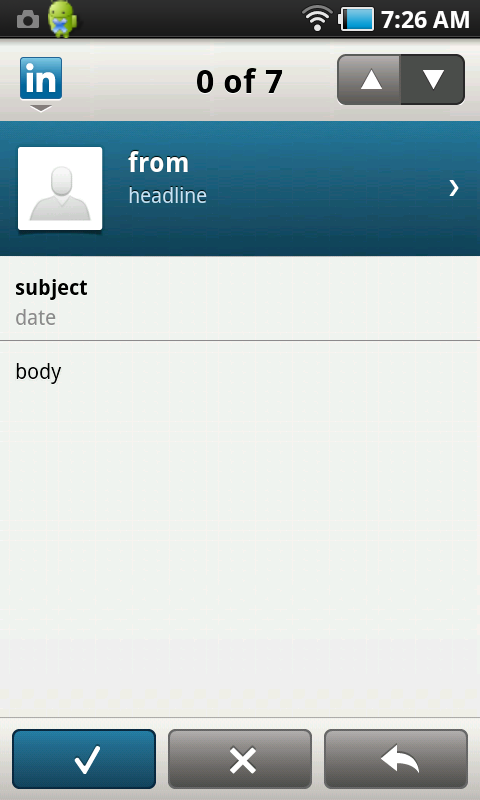 linkedin on #android