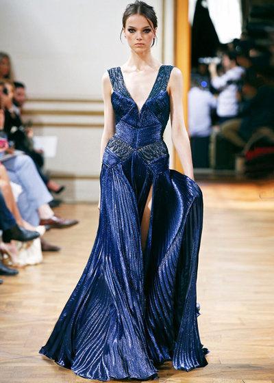 فستان من تصميم زهير مراد مجموعة هوت كوتور صورة 71