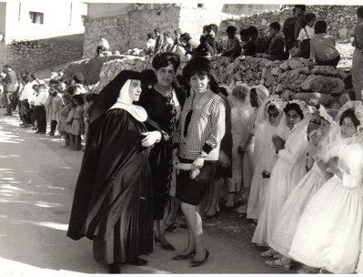 صبايا لاتين #الفحيص #الأردن عام 1974 #تاريخ