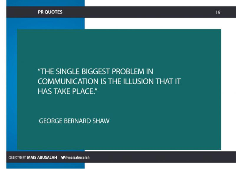 Inspiring PR & Communications Quotes 12