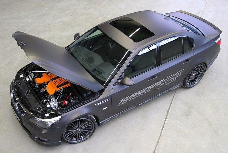 BMW M5 G-Power Hurricane RS - Engine shot