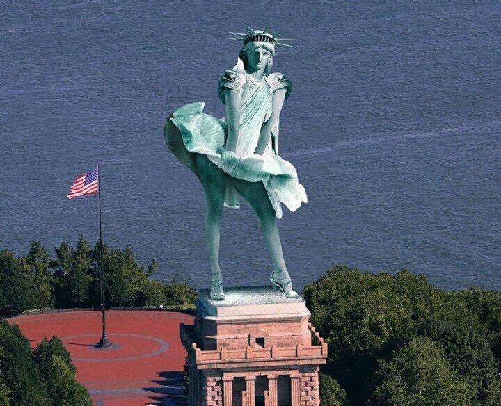 تمثال الحرية أثناء إعصار #ساندي #نهفات - صورة 2
