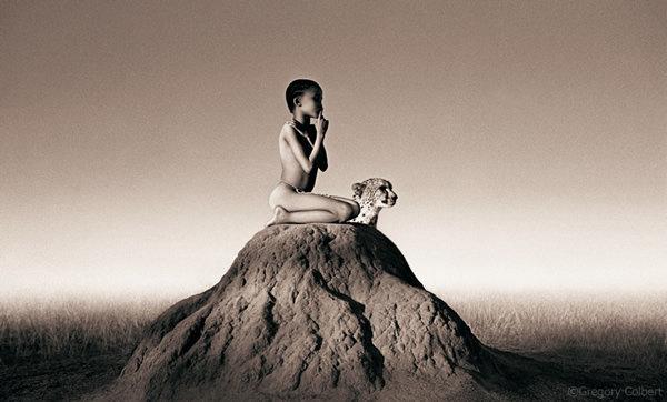 مصور يدمج صور بشر مع حيوانات تحت عنوان -Coming Together Like One - صورة ١٧
