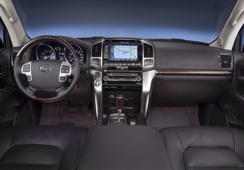 Toyota land cruiser - interior shot