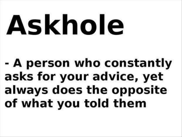the meaning of ASKHOLE