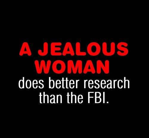 المرأة الغيورة أقوى من المخابرات