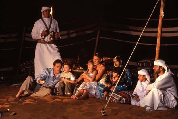 مخيمات الصحراء في #أبوظبي