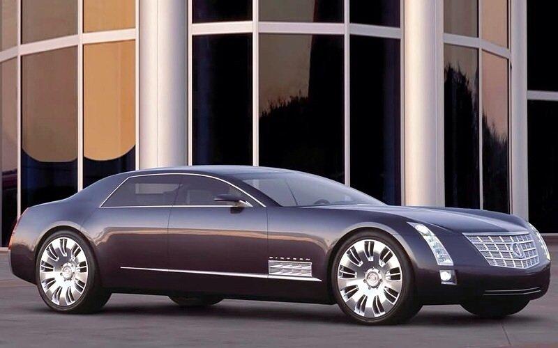 Cadillac Sixteen Concept - front shot