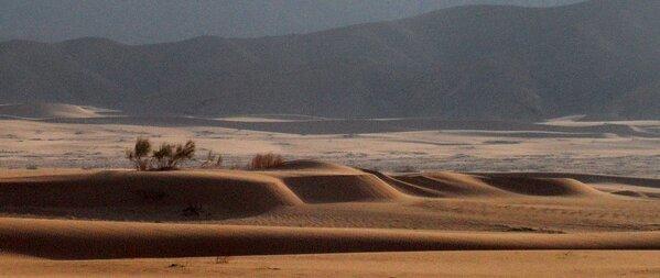 الكثبان الرملية قرب البحر الميت في #الأغوار #الأردن