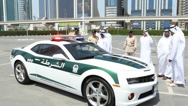 شرطة #دبي تطلق أسطول #سيارات دورياتها الجديدة - كمارو - صورة 3