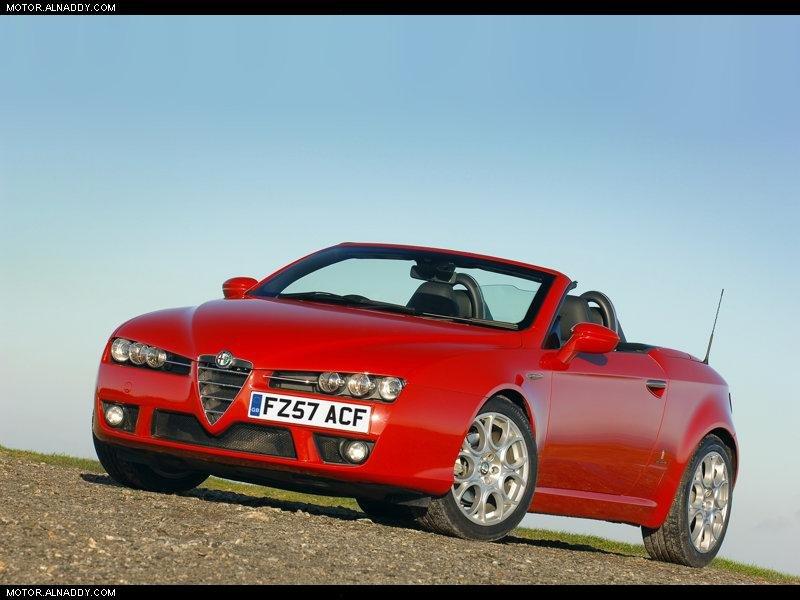 2006 Alfa Romeo Spider UK Version