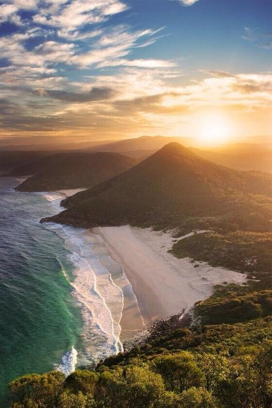 Zenith Beach, New South Wales, Australia